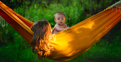 Hammock (PierrePelli) Tags: orange baby green love girl beauty mom golden kid ii hammock 28 chill 70200 6d