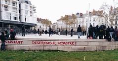 IMG_20160409_172858-2 (Cocomilie) Tags: wall graffiti tags anarchism slogan nantes manifestation punchline loitravail