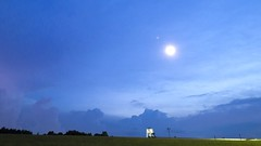 Summer lightning storm, White County, Tennessee (Chuck Sutherland) Tags: lightning storm summer timelapse whitecounty tennessee tn clouds watertower jacksonkayak moon jupiter best