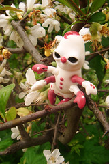 Croustille la Chenille 01 (The Maman Panda) Tags: cute doll artist ooak clown caterpillar resin poupe tendres chimeres