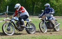 Chester May 2013 - Four Stroke v. Two Stroke (ericmiles47) Tags: jones cz motocross ccm bethell classicscramble