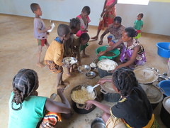 rice and meat! (theancientpath) Tags: poverty school village hunger madagascar cyclone nutrition malnourishment mikea