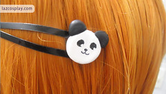 Panda Hair Clip (Laz Cosplay) Tags: hair panda working clip accessory inami mahiru lazcosplay