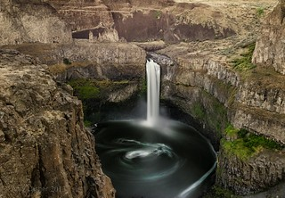 Evening At Palouse Falls