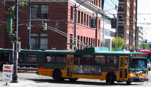 King County Metro 2001 Gillig Phantom Trolley 4171