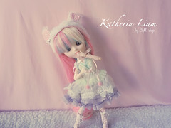 Obitsu! (light_shop) Tags: cute outfit rainbow doll handmade wig pullip lollipop kiyomi snowwhite obitsu dessita