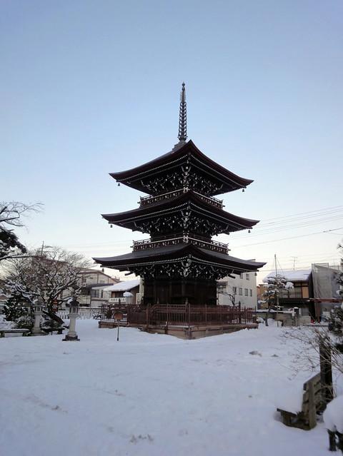 小学生の時以来の飛騨国分寺に再会|飛騨国分寺