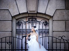 Wedding Dress (lijiabin) Tags: wedding portrait building skyscraper dress shanghai bund lujiazui 500px ifttt