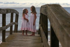the sisters on the boardwalk (bobbyrettew) Tags: sc harborisland beaufort
