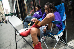 Food Vendors (John Skelson) Tags: nyc newyorkcity nikon unitedstates manhattan streetphotography timessquare streetscenes midtownmanhattan d600 artlab nikond600 newyorkcitystreetphotography johnskelson nikon28300mmlens timessquareartlabmanshoot2013