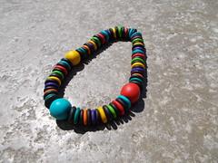 Collar elástico de fimo (MiTiendecillaFimo) Tags: original idea necklace handmade artesanal craft jewelry fimo collar bisuteria gargantilla hechoamano polimerclay arcillapolimerica scupley