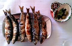 (bolbolaan) Tags: portugal algarve grilled sardines sagres sargres flickrandroidapp:filter=none