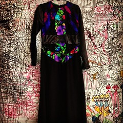 FOR SALE!!! #Available #now #forsale #black #dress - #multicolor #front #pattern #fashion #women #sisters #ladies #different #oneofakind #oneofone #custom #couture #womensfashion #instafashion #instagood #philly #philadelphia #ummah #design by #designer # (Saiyd Muhammed The Clothing Designer) Tags: usa art philadelphia fashion square design bahrain clothing singapore dubai artist designer pennsylvania palestine jordan jakarta abudhabi arab squareformat malaysia saudi kuwait arabian oman saudiarabia hefe qatar bedouin fashiondesign muhammed fashiondesigner fashionhouse starvingartist cutandsew iphoneography instagramapp uploaded:by=instagram saiydmuhammed saiyd americanbedouin
