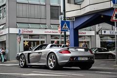 Porsche Carrera GT (Shoarmapapa (Kevin Wellens)) Tags: porsche gt dusseldorf supercar carrera supercars