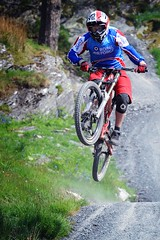 Royal Air Force Mountain Biker (Defence Images) Tags: uk mountain man male bike bicycle sport wales cycling military free biking british defense defence conwy raf personnel royalairforce nonidentifiable anturstiniog