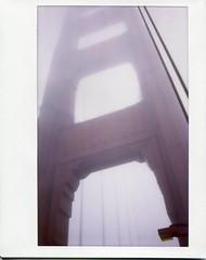 Golden Gate bridge (teacup_dreams) Tags: california bridge usa polaroid golden gate san francisco fujifilm instax