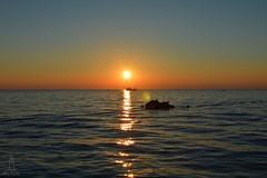 Porec sundown (hartp) Tags: ocean red orange holiday rot nikon meer sonnenuntergang sundown urlaub croatia romantic porec romantik kroatien nikond3200 romantisch istrien hartp d3200