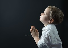 Faith of a child (Laurie Yuenger) Tags: boy love hope kid toddler child little god prayer pray praying young