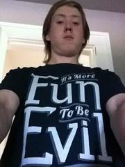 "Matt Wincherauk knows ""It's More Fun to be Evil"""