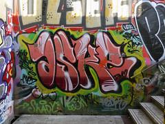 Graffiti in Barcelona 2013 (kami68k []) Tags: barcelona graffiti illegal bombing bunt aske 2013