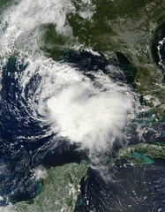 Tropical Storm Karen in the Gulf of Mexico