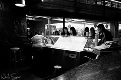 Ice Cream B&W (Wis Empire State) Tags: