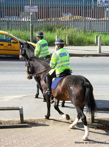 Police Women on Horses