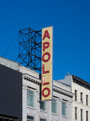 Apollo Harlem (Joe Damage) Tags: city nyc sky newyork building sign exterior harlem apollo musichall 125thstreet joepike