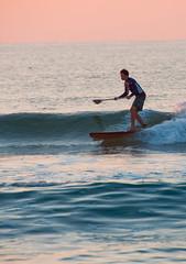 Wrightsville Beach, NC (James Willamor) Tags: ocean sea beach sunrise coast nc surf board north paddle surfing shore carolina wilmington wrightsville paddleboard paddleboarding