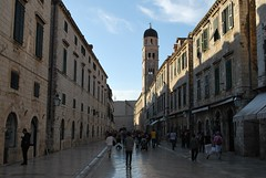 Stradun, late afternoon. Stradun, Dubrovnik, Croatia (gjbarb) Tags: travel europe croatia placa dubrovnik stradun
