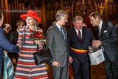 Koningspaar krijgt Maison Dandoy tas (De Wilde photography) Tags: bezoek brussel gewest officieel kroning blijdeintrede