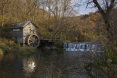 hyde's mill (phantom kitty) Tags: autumn mill stone wisconsin dam country location valley millcreek 1850 ridgeway