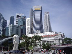 Merlion & Maybank (Bootnecks) Tags: singapore marinapark marinabay merlionpark singaporemerlion maybanksingapore