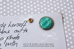 Make Pretty Stuff Down Under (Kerry-Jean Watson) Tags: technique christmasalbum heidiswapp memoryfiles