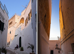 """Ostuni (Guido """"Weedo"""" Benedetto) Tags: old city trip travel sea summer sky italy white hot film youth analog 35mm vintage fun seaside search holidays warm mediterraneo italia mare young explore l discovery salento puglia f4 vacanza ostuni 24105mm"""