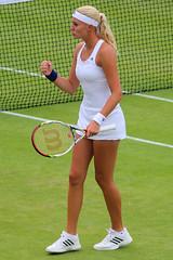 The 127th Championships Wimbledon 2013 - Kristina Mladenovic (Fra) (Andy2982) Tags: tennis wimbledon fra tha cro kaz doubles secondround allenglandlawntennisclub tamarinetanasugarn court8 galinavoskoboeva kristinamladenovic darijajurak the127thchampionshipswimbledon2013