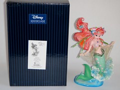 Ariel Couture de Force Figurine by Enesco - First Look - Posed Next to Box - Full Front View (drj1828) Tags: ariel us mermaid figurine purchase disneystore firstlook thelittlemermaid 8inch enesco 2013 couturedeforce