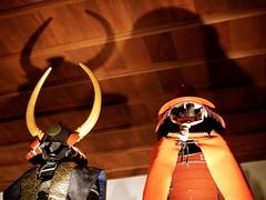 Japanese Armor (Rabbit_No17) Tags: armor sengoku himejicastle 姫路城 兵庫 hyōgo 戦国武将 黒田長政 黒田官兵衛 黒田孝高