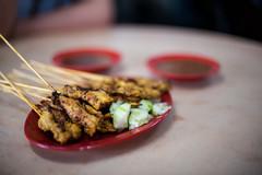 sate (Nazra Zahri) Tags: food asian 50mm nikon raw malaysia nikkor satay malaysian johor batupahat sate 50mmf14d 2013 d700