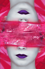 11/365 11.01.14 Reflection (Lorena Stoica) Tags: red portrait reflection face high purple post retrato lips processing end