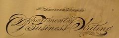 Department of Business Writing (ddsiple) Tags: calligraphy