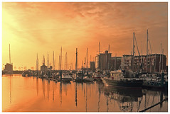 boats (bojangles_1953) Tags: marina sunrise boats hull