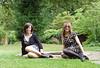 2013 in review - Twin Pose (Starrynowhere) Tags: public outdoors rachel outdoor emma crossdressing tgirl louise tranny transvestite crossdresser swann ballantyne transvestism starrynowhere