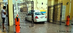 Flood in the City (M.RISHAN SHAREEF) Tags: water car rain yellow flood