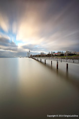 The Other Side... (SrgioLusSilva) Tags: longexposure clouds movement expo lisbon longaexposio tagusriver canon1740f4l lisboaportugal riotejo cs5 canon5dmkii lee09soft leeholder leebigstopper srgiolussilva