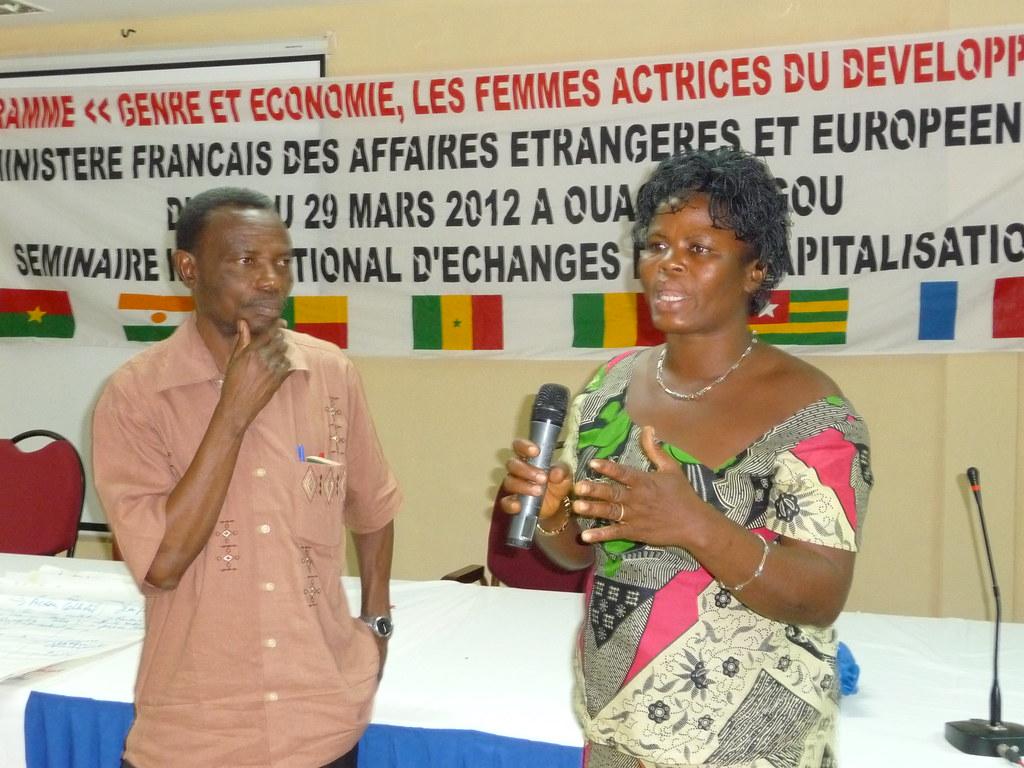 RP AVSF&femme eleveuse Togo participant atelier