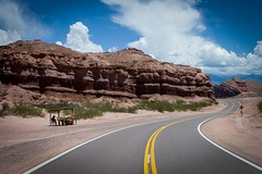 Almost alone (sandrine L.) Tags: road leica argentina alone salta ruta40 m9 cafayate