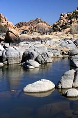 Watson Lake (K e v i n) Tags: arizona lake nature water rock outdoors az prescott watsonlake granitedells canoneosdigitalrebelxti