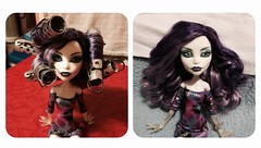Spectra's Hair Care !! (MyMonsterHighWorld) Tags: monster high doll curls spectra mattel basic vondergeist uploaded:by=flickrmobile flickriosapp:filter=nofilter