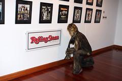 Mick Jagger Rolling Stone Human Statue
